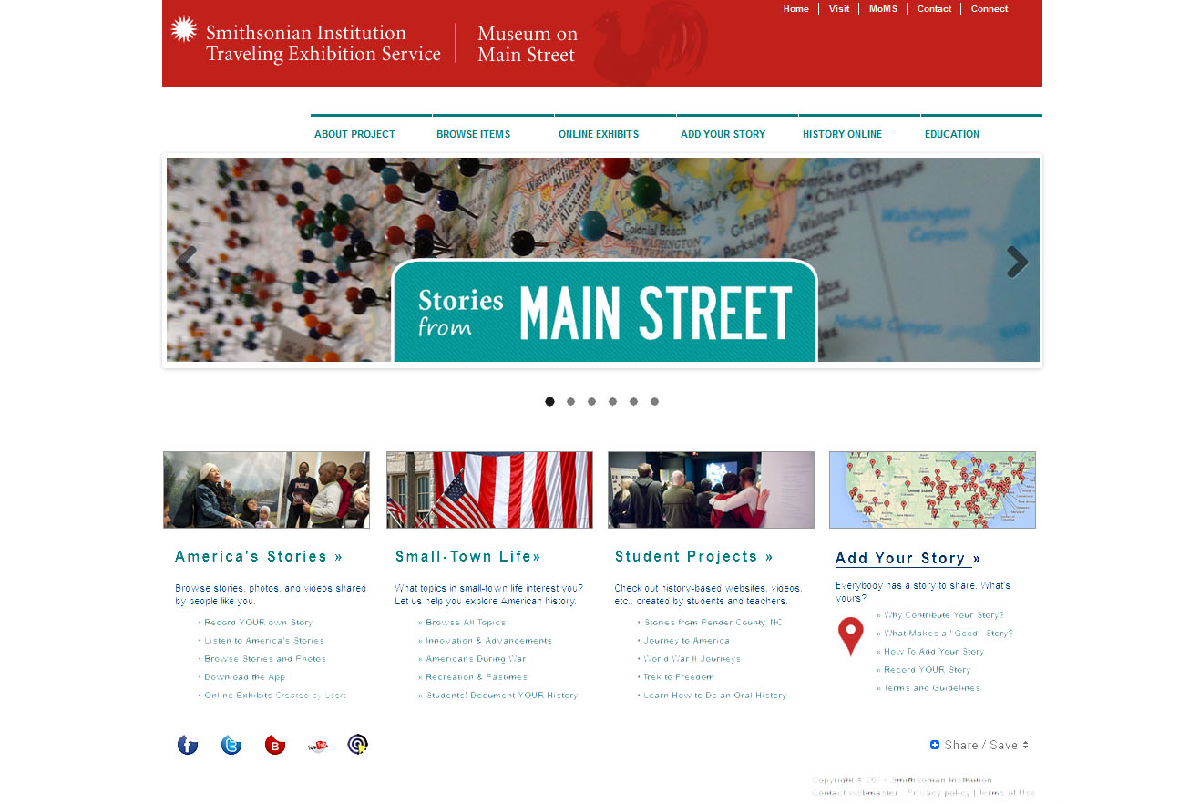 Stories from Main Street Website