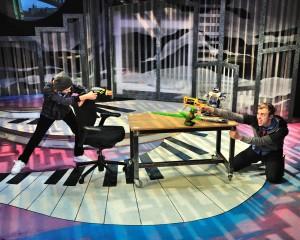 Brendan DeBonis as Billy and Greg Maheu as Josh in Big, The Musical TYA. Photos by Bruce Douglas