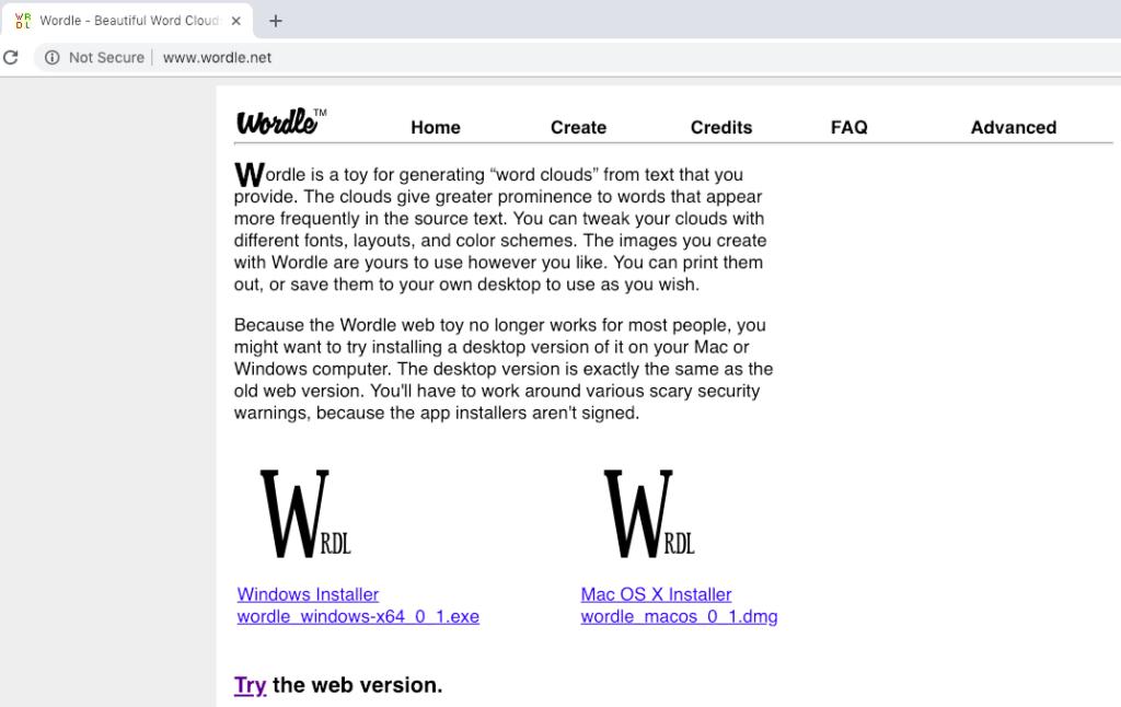 Digital Tool Review: Wordle – Digital History Methods