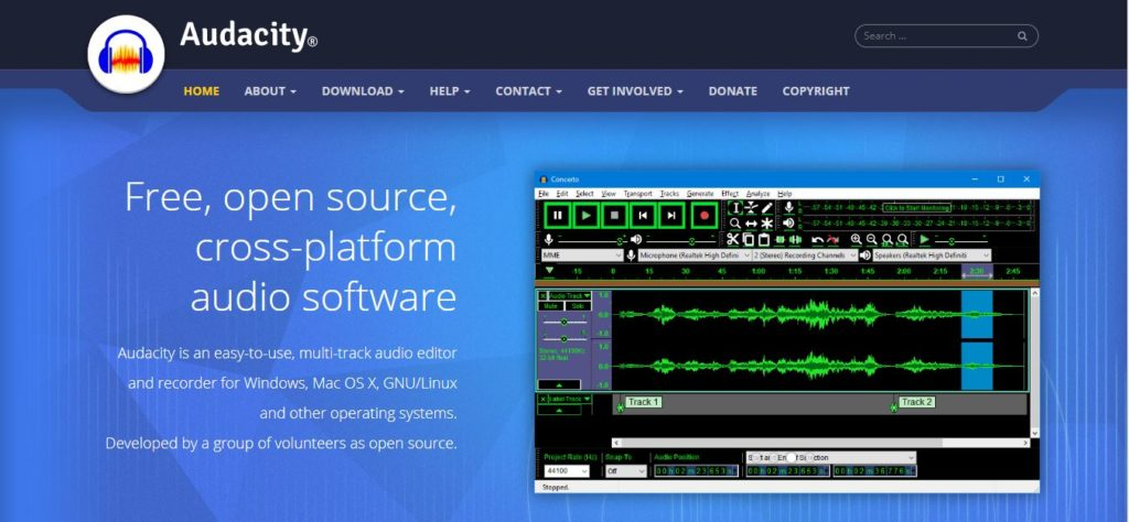 Audacity: A Free Resource For All – Digital History Methods